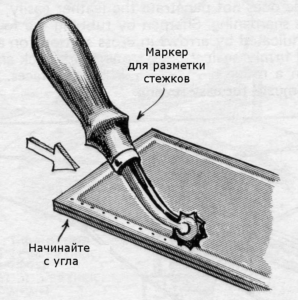 Подготовка кожи и нити 3