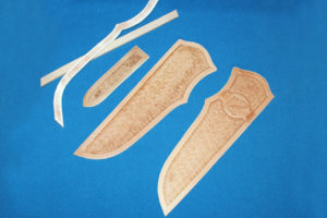 Всадные ножны, краткое описание основных этапов работы 3