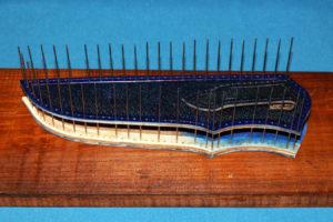Всадные ножны, краткое описание основных этапов работы 7