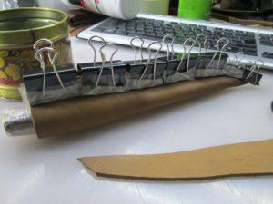 Ножны для ножа финского типа 8
