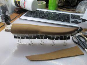Ножны для ножа финского типа 10