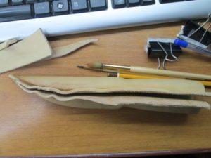 Ножны для ножа финского типа 14