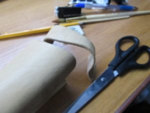 Ножны для ножа финского типа 20