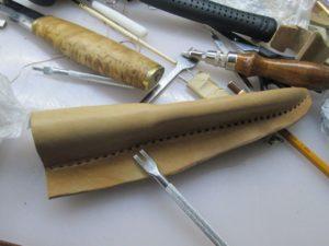 Ножны для ножа финского типа 21
