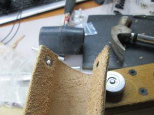 Ножны для ножа финского типа