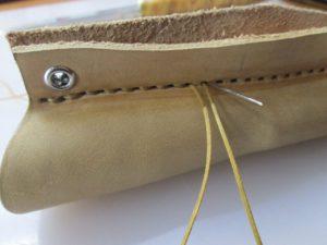 Ножны для ножа финского типа 31