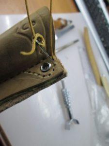 Ножны для ножа финского типа 42