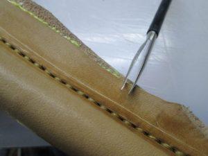 Ножны для ножа финского типа 43