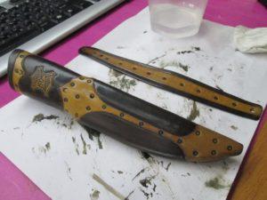 Ножны для ножа финского типа 52