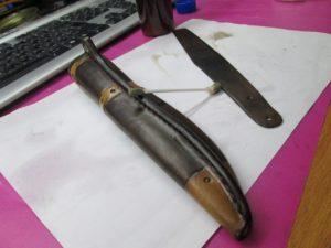 Ножны для ножа финского типа 53