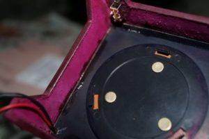 Светильник-ночник из натуральной кожи 117