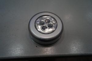 Светильник-ночник из натуральной кожи 32