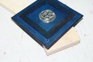 Светильник-ночник из натуральной кожи 52