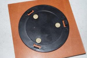 Светильник-ночник из натуральной кожи 56