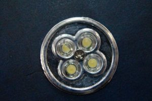 Светильник-ночник из натуральной кожи 88