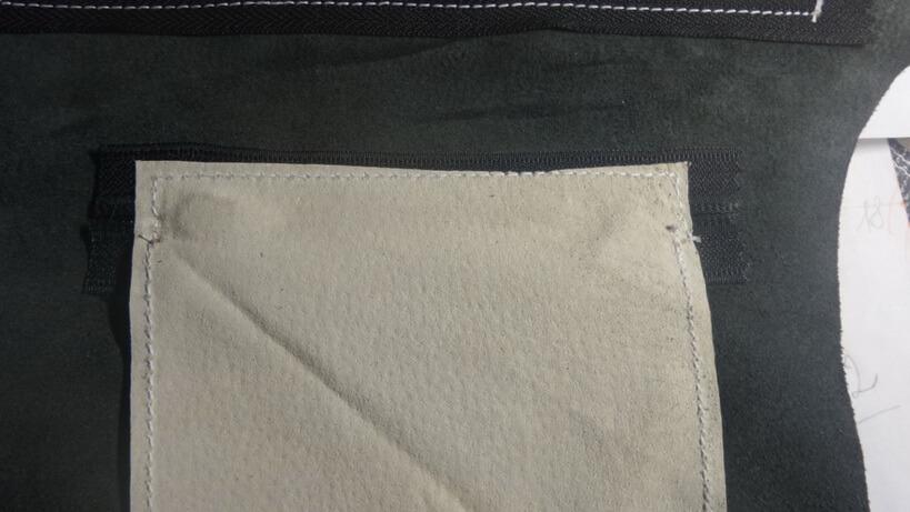 Кожаная сумка на бедро 22