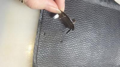 Кожаная сумка на бедро 3