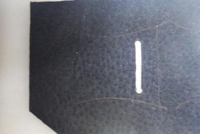Кожаная сумка на бедро 35