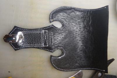 Кожаная сумка на бедро 39