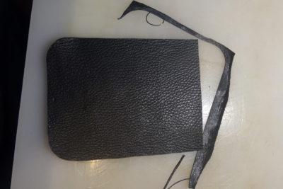Кожаная сумка на бедро 4