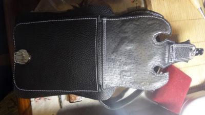 Кожаная сумка на бедро 41
