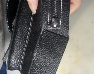 Кожаная сумка на бедро 44