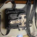 Кожаная сумка на бедро 60