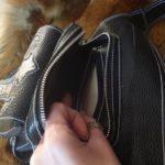 Кожаная сумка на бедро 65