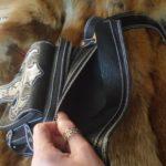 Кожаная сумка на бедро 66