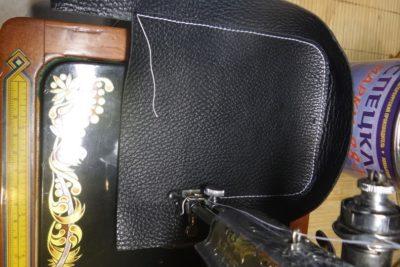 Кожаная сумка на бедро 8