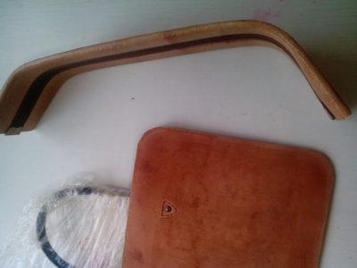 """Кожаная сумка с тиснением в стиле """"Шеридан"""" 64"""