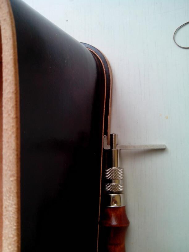 """Кожаная сумка с тиснением в стиле """"Шеридан"""" 73"""