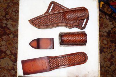 Ножны в ковбойском стиле 12