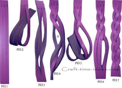 Плетеный браслет 1
