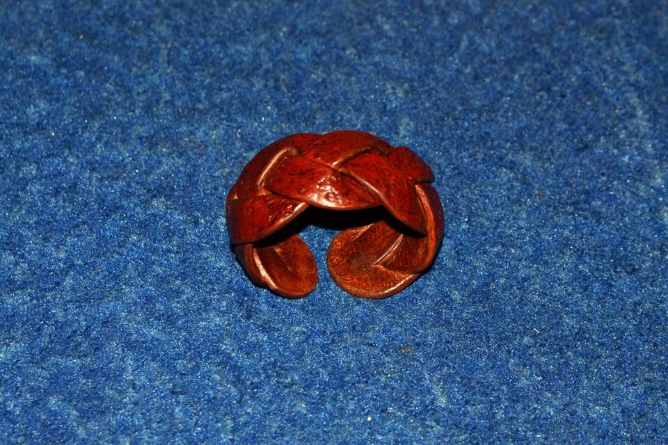 Плетеный браслет 3