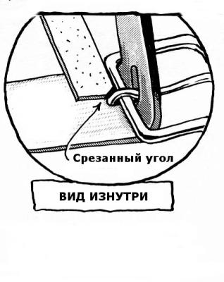 Как закрепить пряжку 1-11