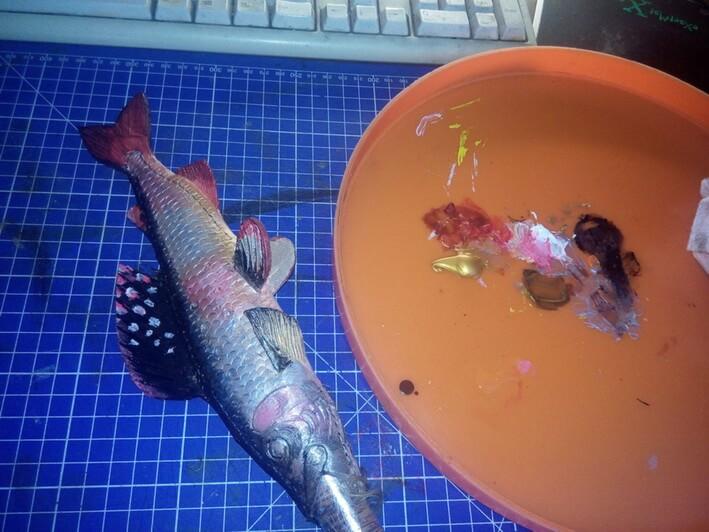 Ножны в форме рыбы 10