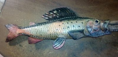 Ножны в форме рыбы 17