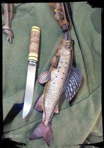 Ножны в форме рыбы