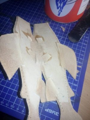 Ножны в форме рыбы 6