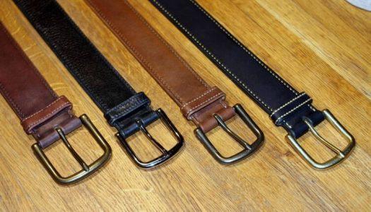 Делаем кожаный ремень своими руками — пособие для начинающих