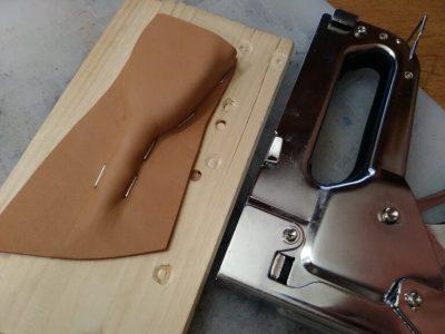 Кожаный чехол на ключ 3