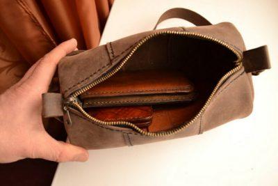 Круглая сумка 11