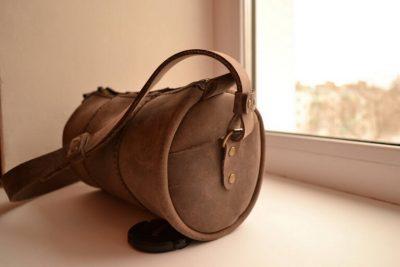 Круглая сумка 12