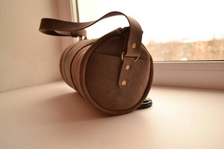 Круглая сумка 13