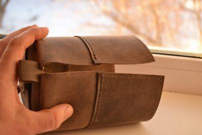 Круглая сумка 6