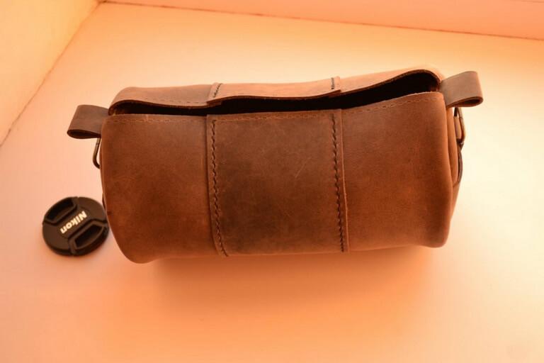 Круглая сумка 8