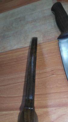 Ножны с подвесом 5