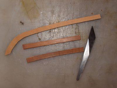 Ножны со съемным подвесом 11