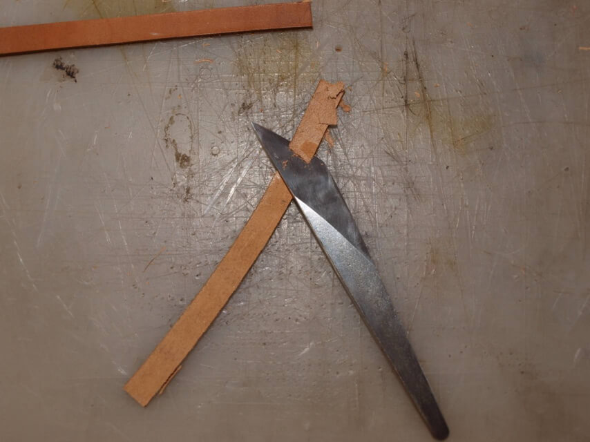 Ножны со съемным подвесом 12